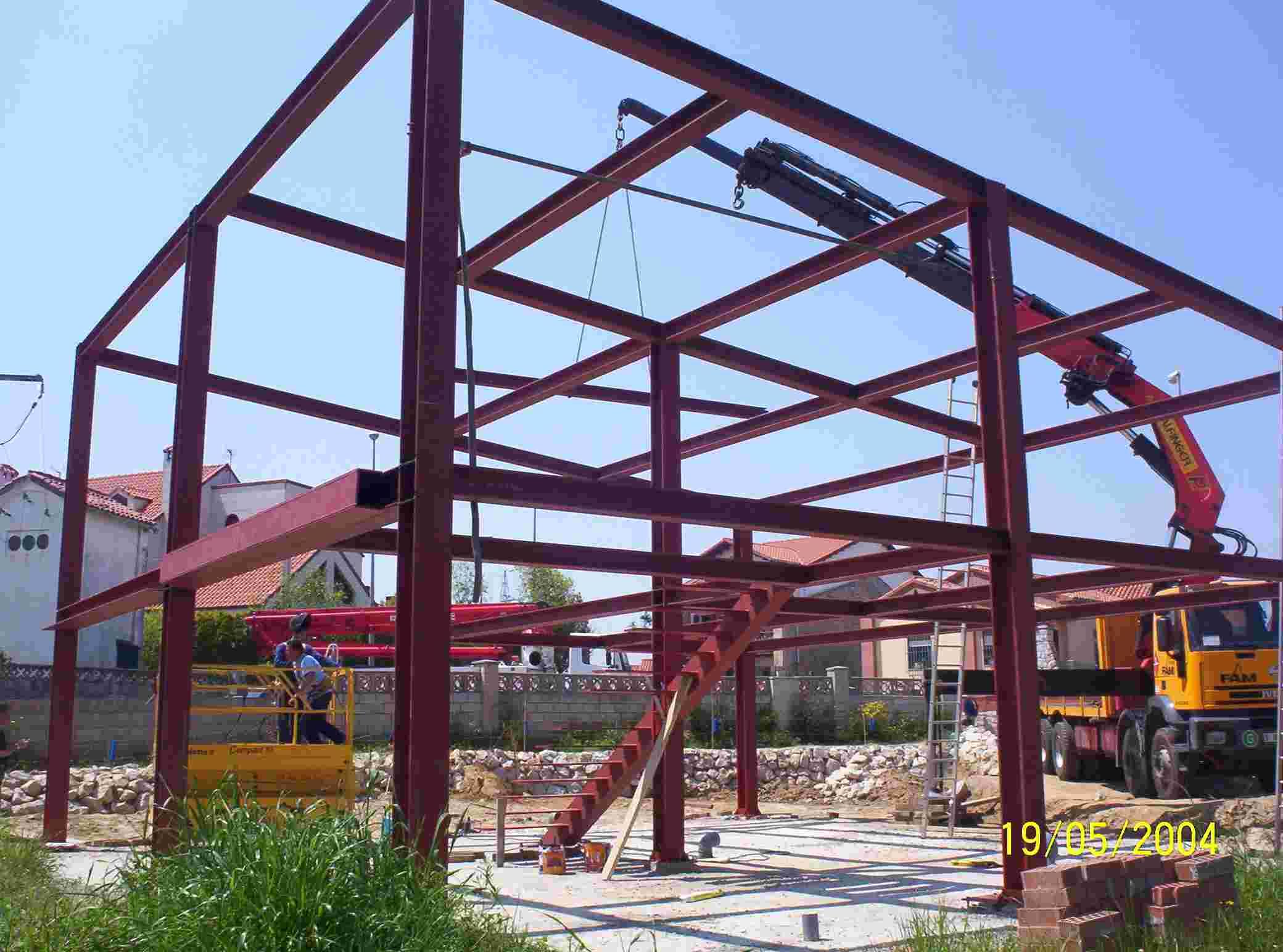 Casas Estructura Metalica - Ideas De Disenos - Ciboney.net